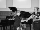Z. Vithová na koncertě 4.10.2016