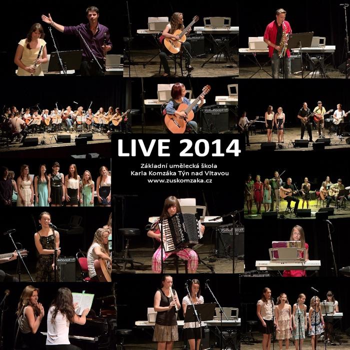 CD Live 2014 ukázka přední strany obalu