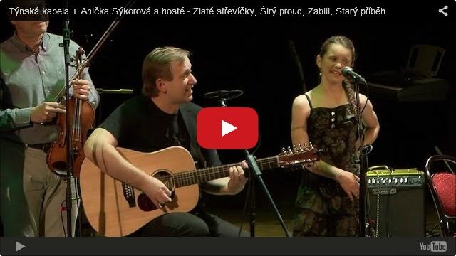 Anička Sýkorová a Týnská kapela