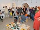 Vernisáž výstavy 3.10.2016 v Galerii U Zlatého slunce v Týně Týn nad Vltavou