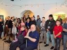 Vernisáž výstavy 23.2.2018, Městská galerie Týn nad Vltavou